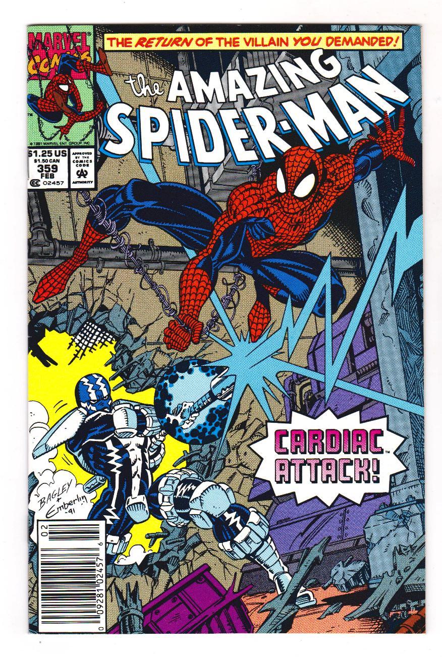 Amazing Spiderman # 359 USA,1992