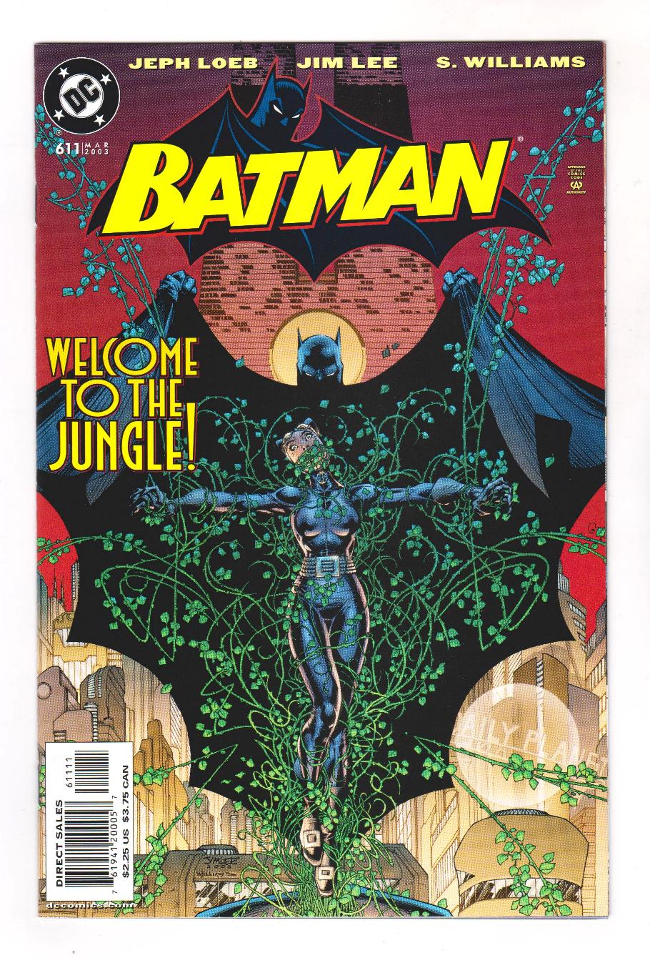 Batman 611 Nm 9 2 Hush The City Catwoman Poison Ivy Jim Lee Ships Free Ebay