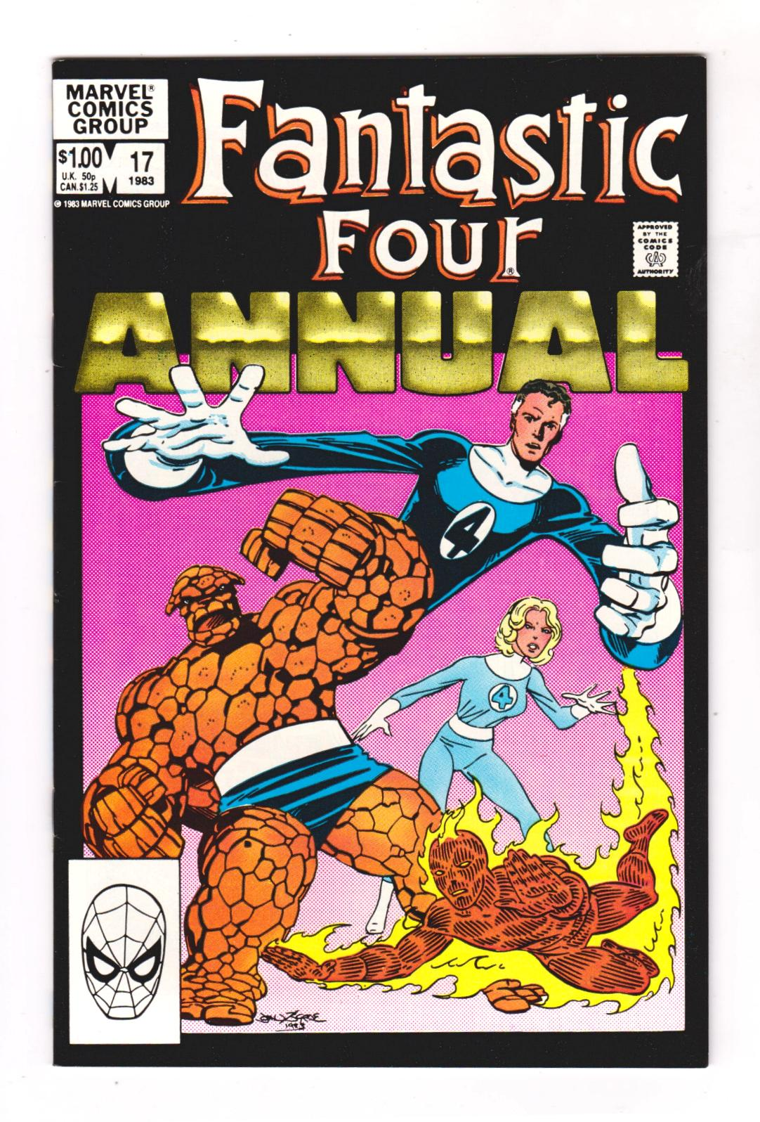 FANTASTIC FOUR ANNUAL 17 (VF+) LEGACY ( FREE SHIPPING) * | eBay