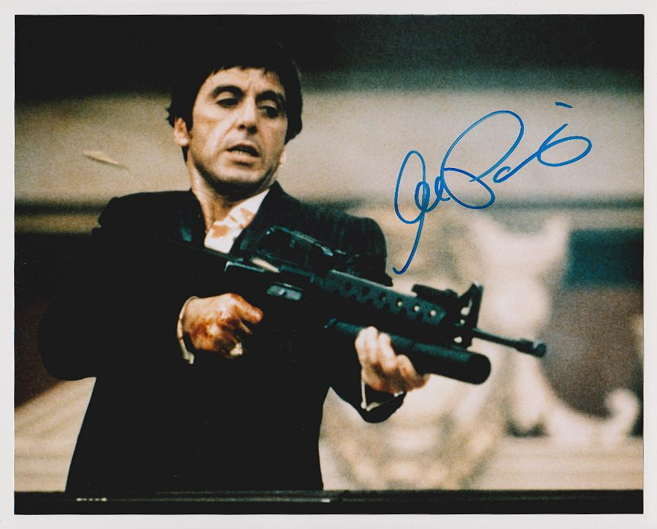AL PACINO AUTOGRAPHED 8X10 COLOR PHOTO REPRINT FREE SHIPPING *