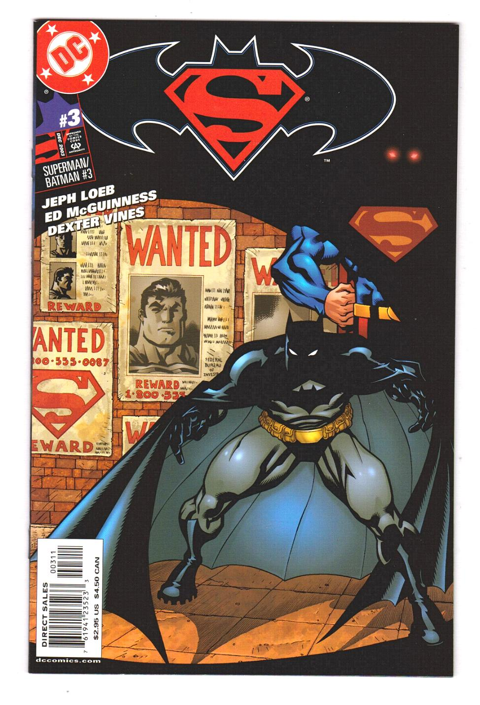 Batman Superman # 7 DC New 52, VF // NM Flat Rate Combined Shipping!