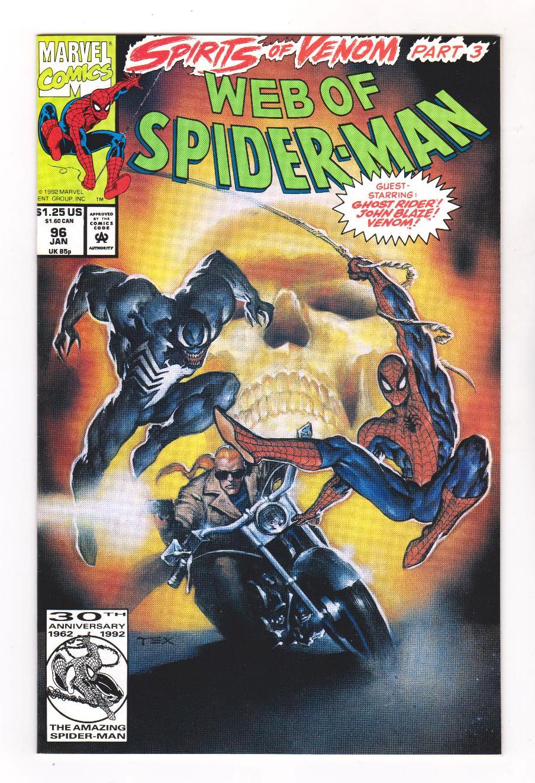WEB OF SPIDER-MAN #96 VOL.1 VF//NM